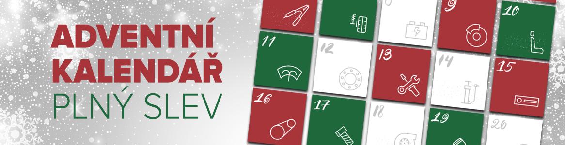 Adventní kalendář Autokelly